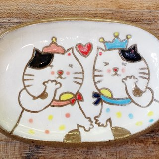[Dessert dish] cat little prince ─ two exactly