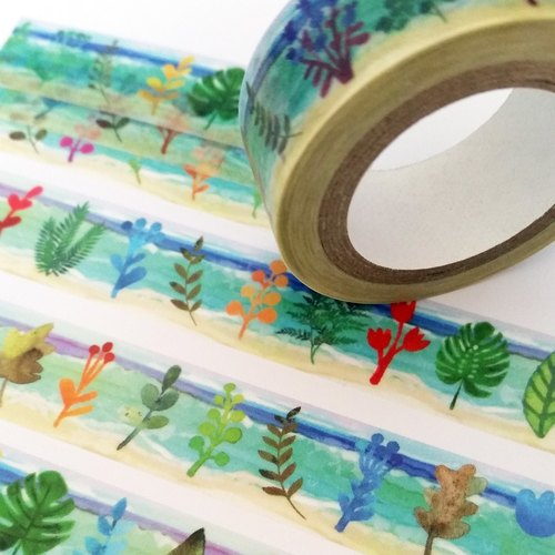 Masking Tape BEACH LEAF LANGUAGE
