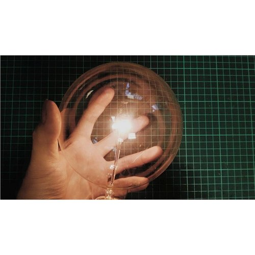 G125 retro ball of incandescent light bulbs