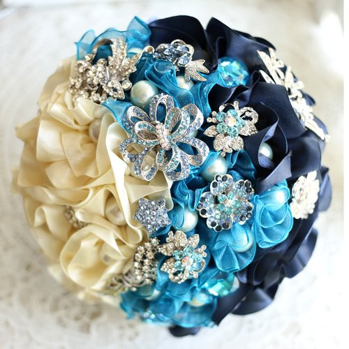 Wreaths Manor*Handmade jewelry bouquet*custom made ​​* ~ jewelry marry bouquet bouquet ~~~ NO.133