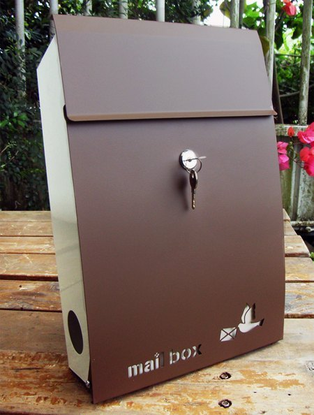 Japanese stainless steel wind-mail, mailbox, durable and exquisite combination of anti-rust fearless storm, there are colored pictures clickable reference `. 'Charming make sense of some kind of life everywhere.""