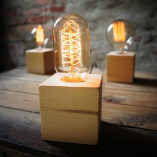 Edison-industry industrial retro style LOFT pine-containing lamp holder lamp - Industrial Design Edison paragraph 7