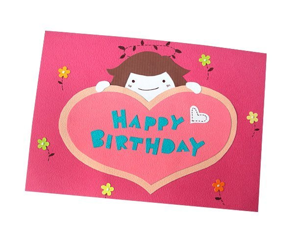 Handmade Card _ Angel Send Love Birthday Card