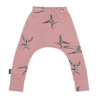 Nordic Organic Cotton Children's Trousers Flying Pants Pink Baggy Pants ba7 Antique Kria