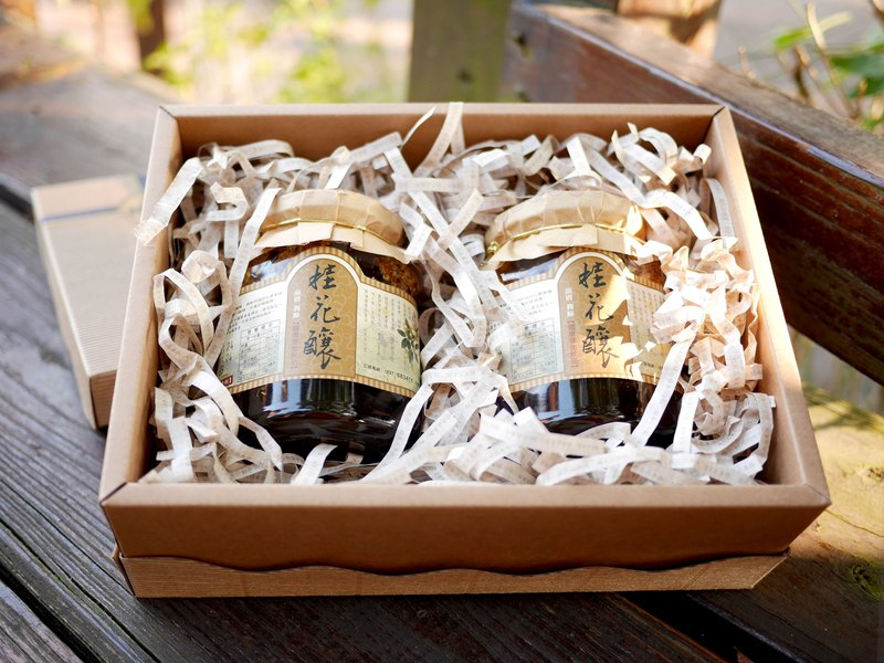Osmanthus wine gift