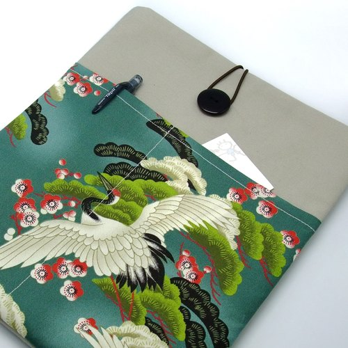 "11"" to 13"" MacBook Pro case, MacBook Air cover, Surface RT Pro, Laptop, Custom tablet sleeve with 2 pockets PADDED (63)"