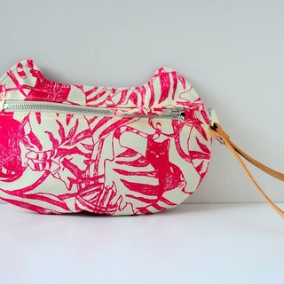 zippy cat - multi-functional pouch - Pinkie Cat