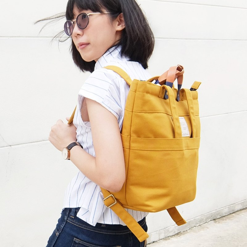 Swift yellowstone backpack : mustard yellow