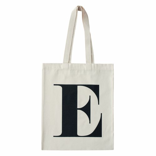 Alphabet Bags Tote letter [E] (the UK / free shipping)