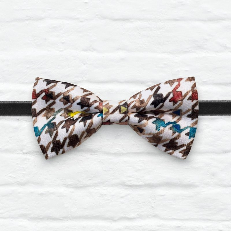 Style 0066 Bowtie - Modern Boys Bowtie, Toddler Bowtie Toddler Bow tie, Groomsmen bow tie, Pre Tied and Adjustable Novioshk