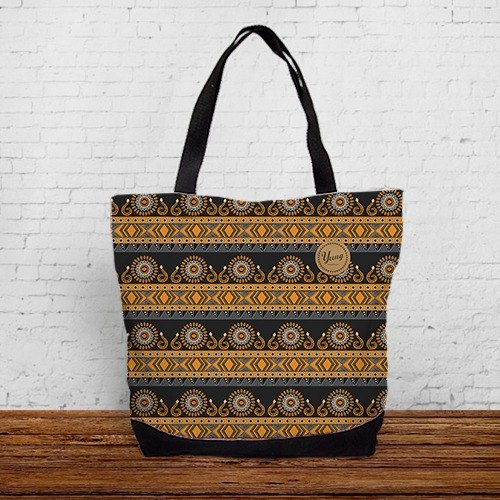 Paiwan Totem Tote AB1-CCTW2