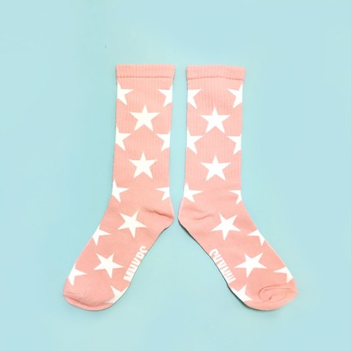monokeros full of stars socks pink