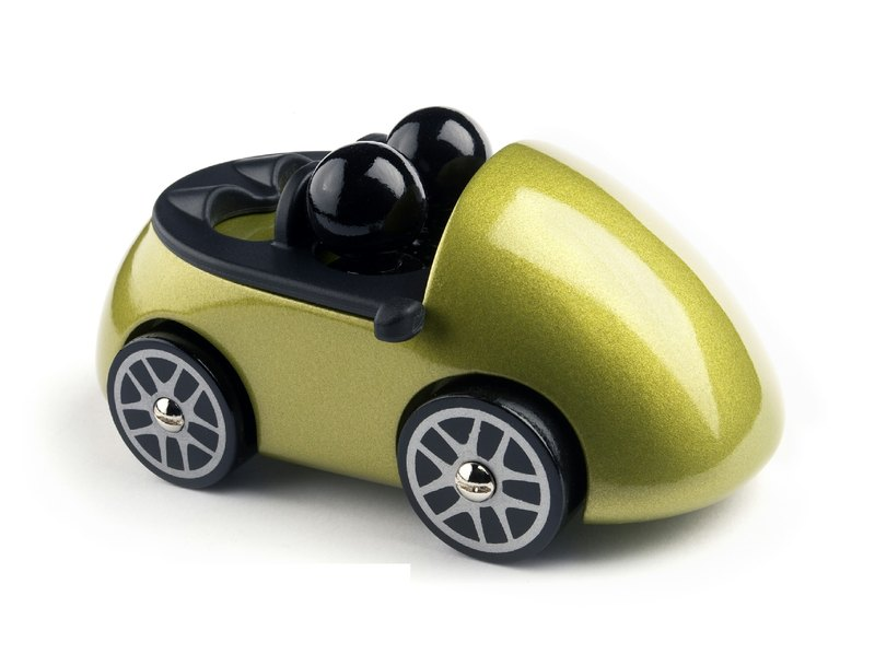 PLAYSAM- Double Cabriolet (lime yellow)