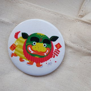 CHUMIO Happy New Year Series: Cheung-Shih Offers Swiss Badge Pin/Magnet