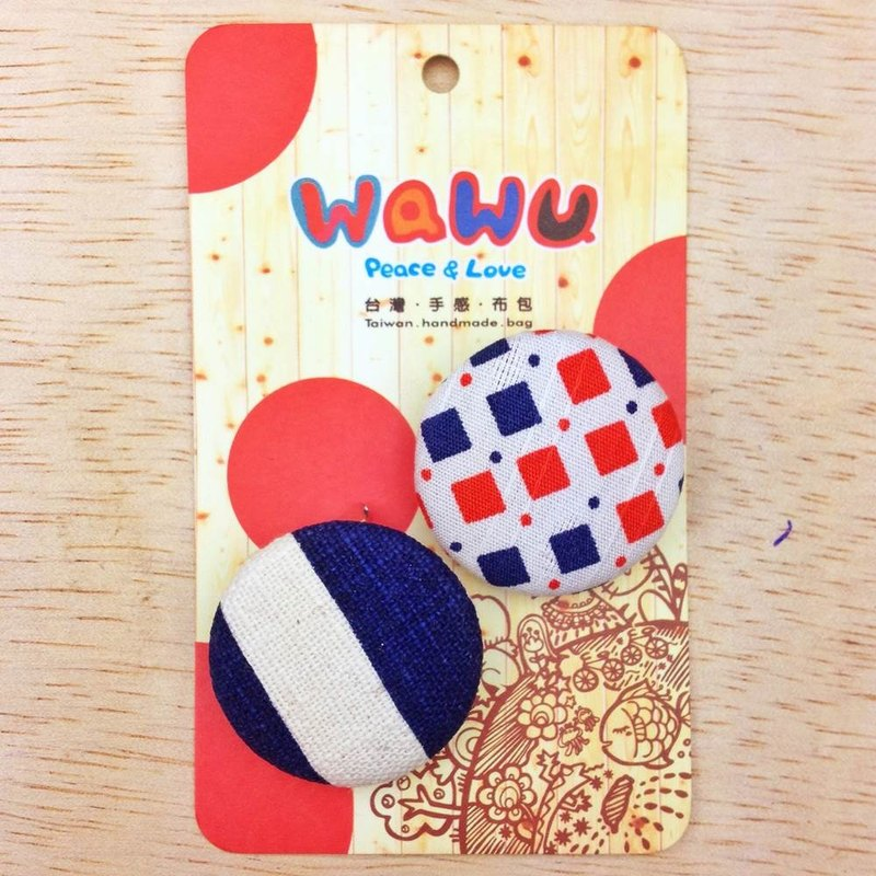 WaWu exclusive designer handmade cloth badge - Lakeside Elementary School