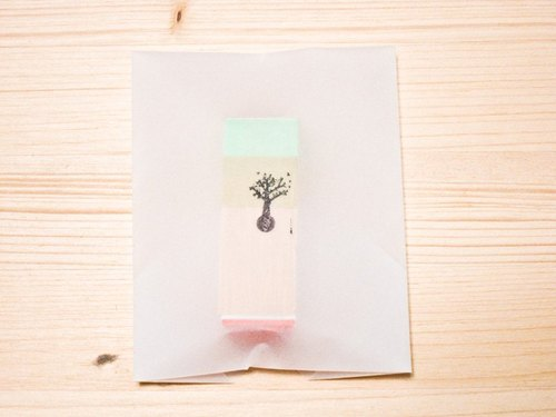 [Stamp] No.014 Big  Sapling