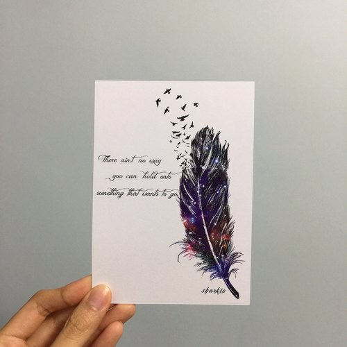 Feather Postcard (Feather Postcard)