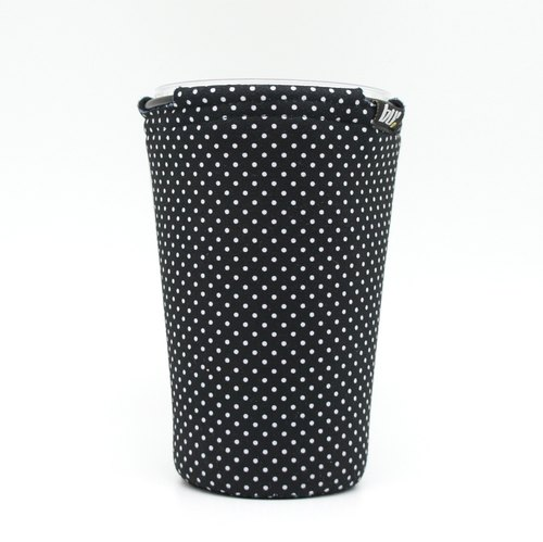 BLR Drink caddy [ White Dot Black ] WD09