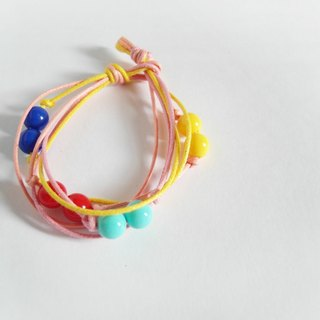 Fun music / hand-woven beaded bracelet