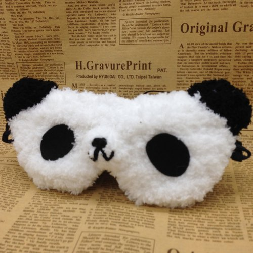 Marshmallow animals goggles - Panda
