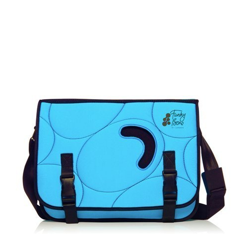 14 '' UK W1-LONDON Funky Bone Multifunctional Mail Pack - Turkish Blue