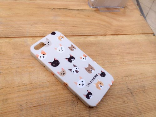Cat iPhone 5/5s, 4/4s case