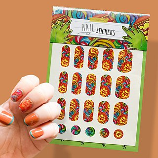 Hello Sweetie Candy Shop - nail sticker