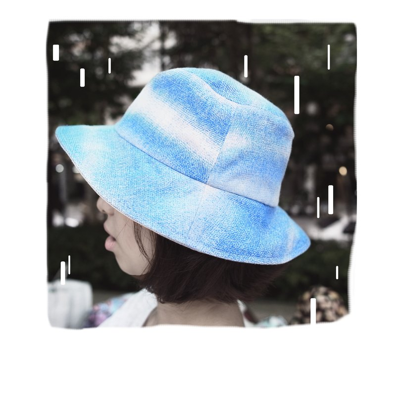 A MERRY HEART ♥ Just Like Your Tenderness sky blue hat