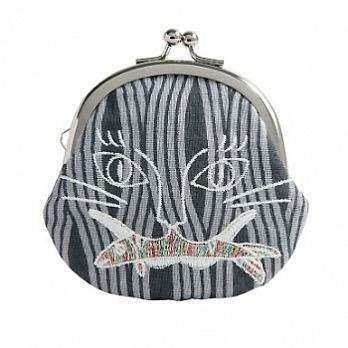 [Jingdong all KYO-TO-TO] Monsters · Hyakki シ an have DANGER _ Cat and herring soba Purse