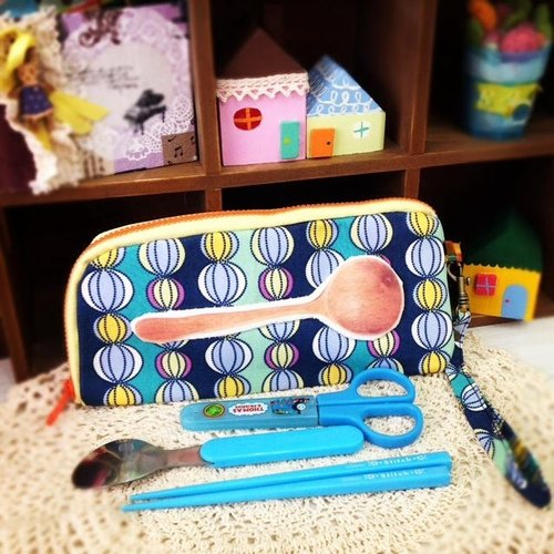 [Ball] baby blue glass tableware bags