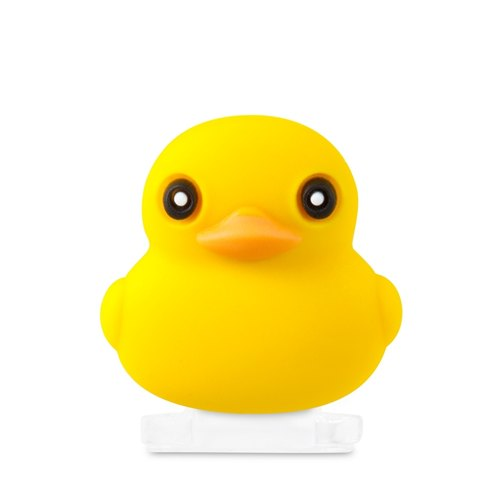 Lightning Cap classic modeling dust plug - yellow duck
