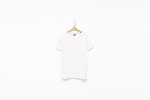 White solid face Tee - only M number