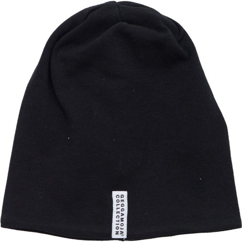 Nordic organic cotton children's fashion hat black