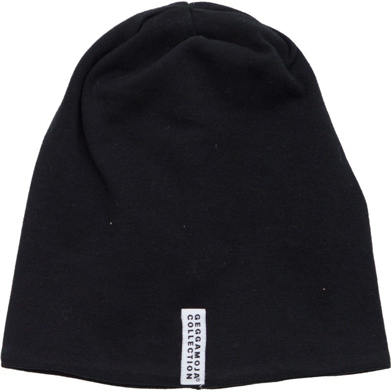 [Nordic children's clothing] Swedish organic cotton cap _ black
