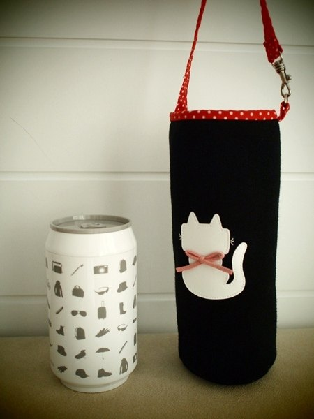 hairmo. Cats sit portable bottle holder - black (Active mention the)