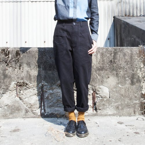 SU: MI said classic man mana work pants _4AF702_ black