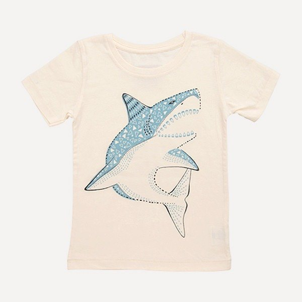Amabro Honey Tee · Shark · 5-6 years