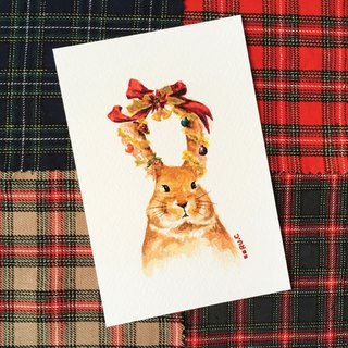 Christmas Card * Rabbit