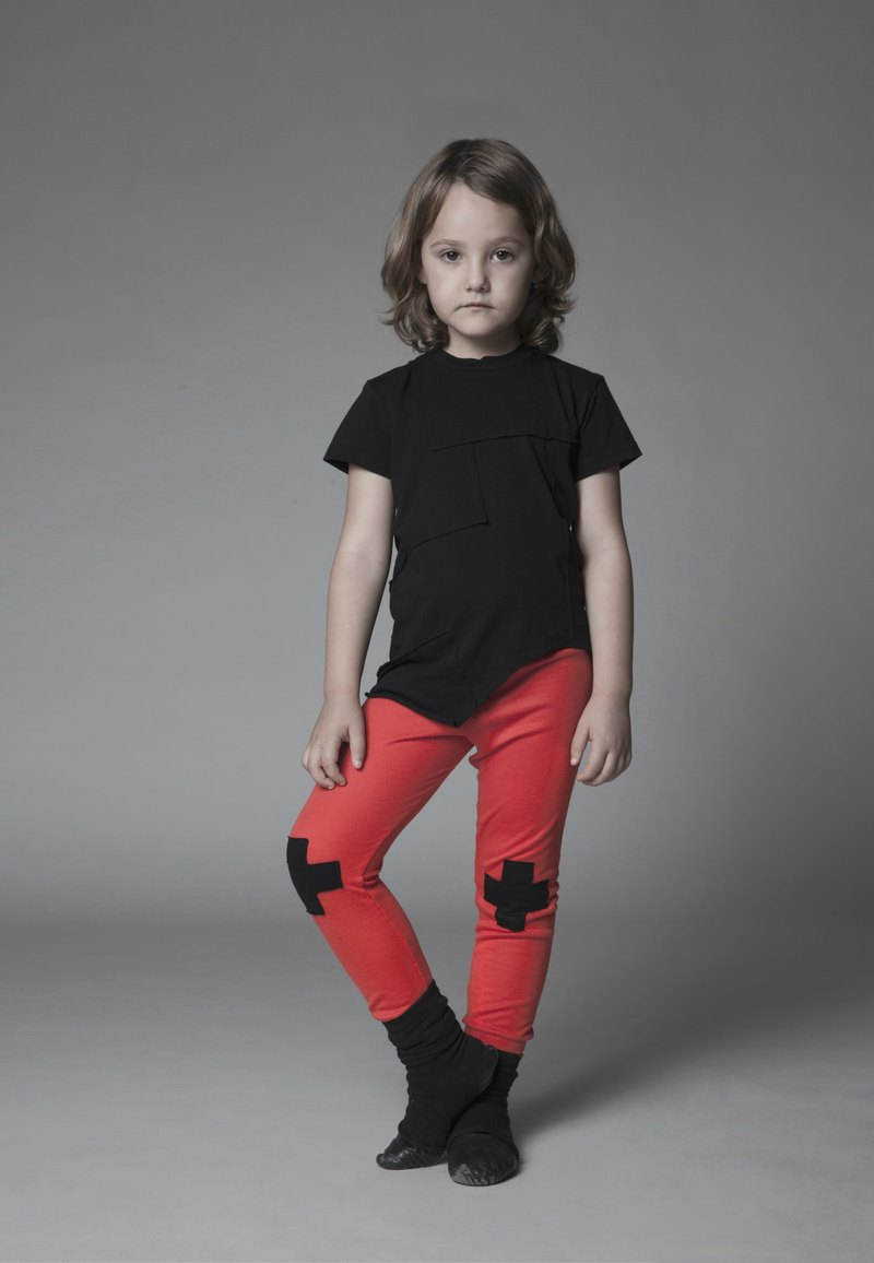 "Spring 2015 NUNUNU ""Knee Cross"" Legging"