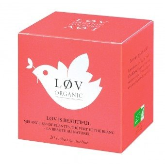 Gorgeous love organic tea spot Clearance Offer - Lov is Beautiful (20 packets / box)