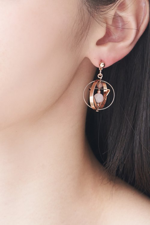Terrestrial planet Earrings(small one)
