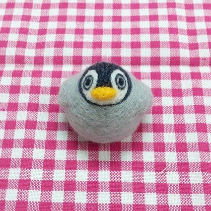 <Wool felt> childhood Emperor penguin - by WhizzzPace