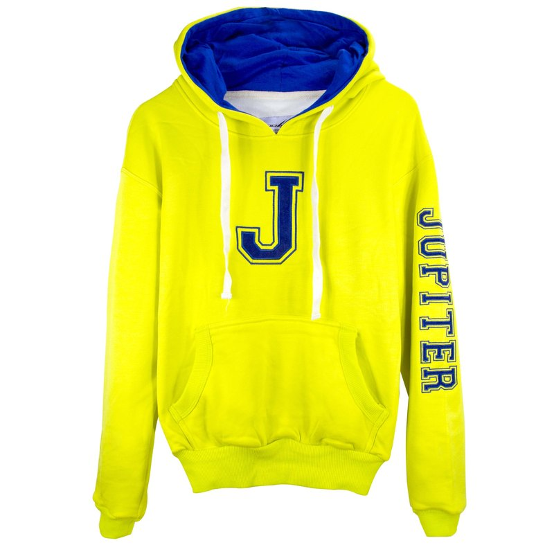 ✛ tools ✛ Space hooded t :: Kids (big boy) :: Super warm cotton bristles :: :: :: # yellow #Jupiter nine planets