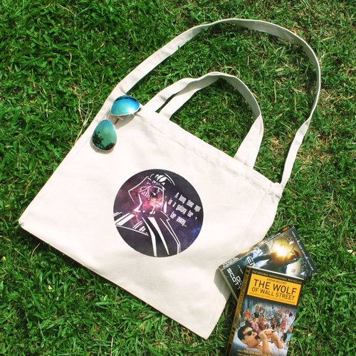 Skywalker in a galaxy Cultural & Creative wind horizontal canvas bag