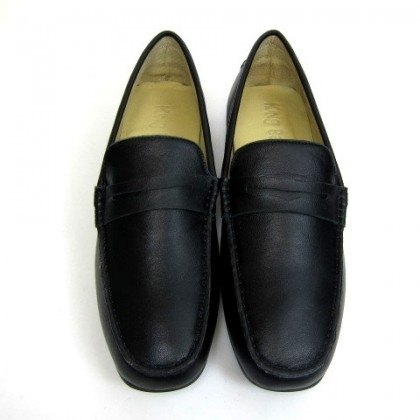 Fort Tony Wang handmade leather shoes (M) [sheep / soled / black]