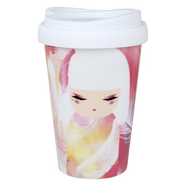 Kimmidoll and blessing doll Mizuyo cold drink cup