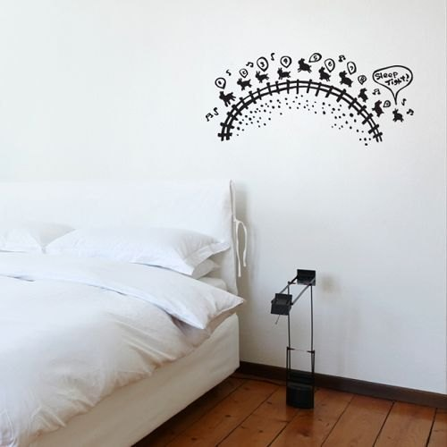 / Counting Sheep  / Wall Sticker / ECO-Material