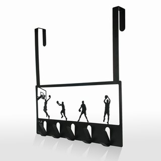 OPUS Continental Iron door hook / Creative storage rack / boy gift / Valentine's Day gift (Slam Dunk)