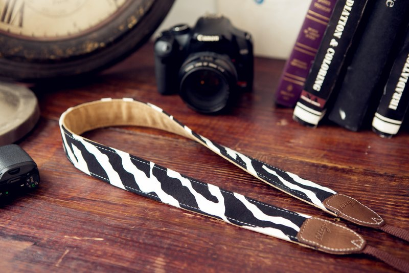 Super special deals to buy earn iviego04 handmade camera straps - Zebra (no box.