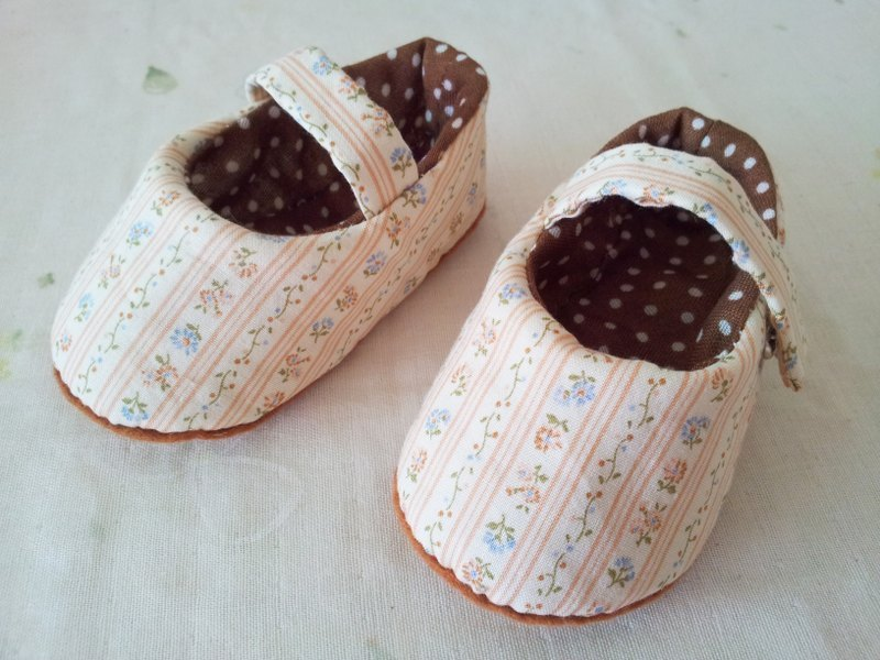 Small fresh baby shoes